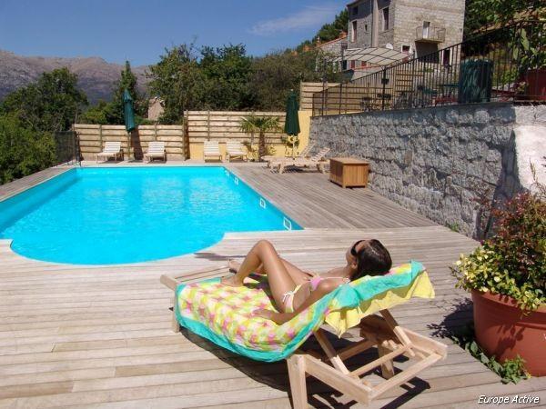 la corse en voiture mer et montagne h tels 3 avec piscine. Black Bedroom Furniture Sets. Home Design Ideas