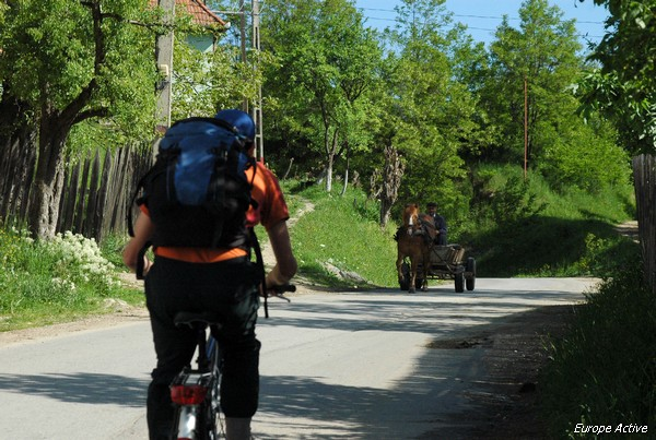 cycling romania transylvania